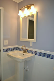 Example of bathroom remodeling in Columbia SC done by Construction Specialties of Columbia, Inc.